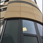 new south glasgow hospital curved panels 1
